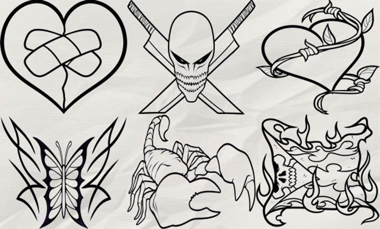 Bagaimana draw tattoo apk download gratis gaya hidup apl for How do you draw a tattoo