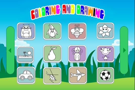 Coloring And Drawing Kids screenshot 1
