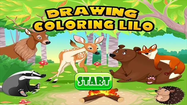 Coloring Book Lilo poster