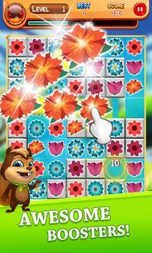 Macth 3 Blosson Garden screenshot 21