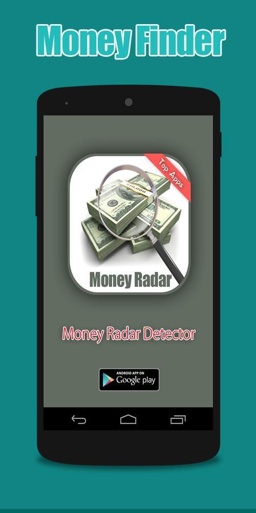 Radar Detector App >> Money Radar Detector Simulator For Android Apk Download