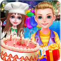 Fruit Cake Birthday Party