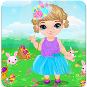 Top dress up baby games free icon