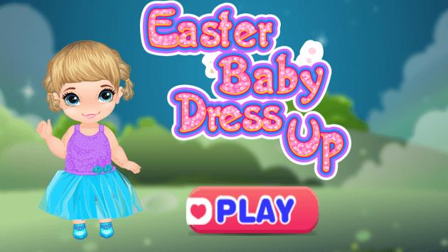 Top dress up baby games free poster