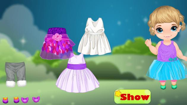 Top dress up baby games free screenshot 13