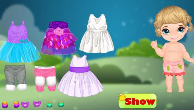 Top dress up baby games free screenshot 1