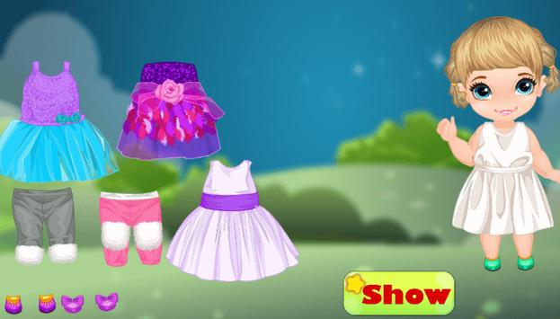 Top dress up baby games free screenshot 2