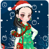 Christmas Dress up Girl Games icon