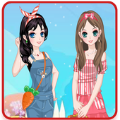 Pretty Girl Dress Up Makeover icon