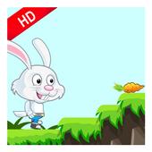 Crazy bunny adventure icon