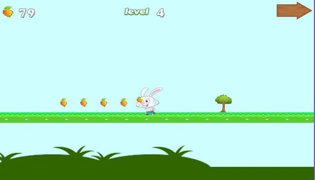 Crazy bunny adventure apk screenshot