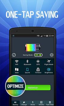 DU Battery Saver HD & Widget poster