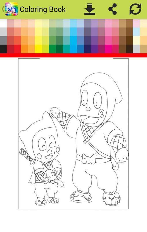 Coloring hattoriI ninja go Descarga APK - Gratis Educativos Juego ...