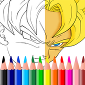 Coloring for goku Pro icon