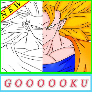 Coloring for goku Pro screenshot 2