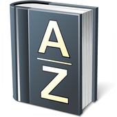 Dictionary Modern App electronic eApp icon