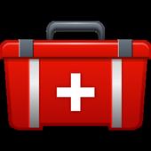 First Aid emergency Hospital Guide portal App icon