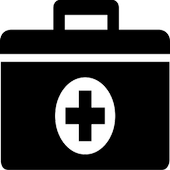 Minor First Aid Health care Manual Guide icon