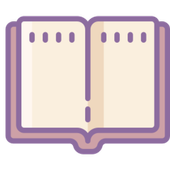 Modern Dictionary Book electronic app icon