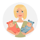 Pregnancy week Healthcare knowhow icon
