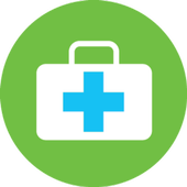 Road Accidents Health care Pocket Guide icon
