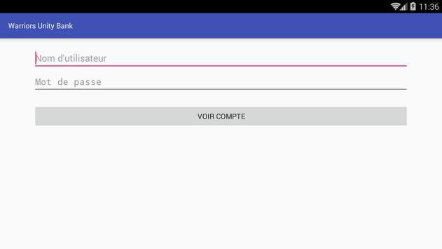 Banque Warriors Unity apk screenshot