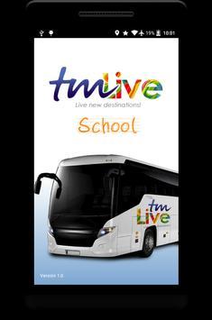 TMLive School poster