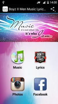 Boyz II Men Music Lyrics v1 poster