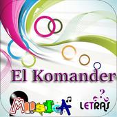 El Komander Musica Letras v1 icon