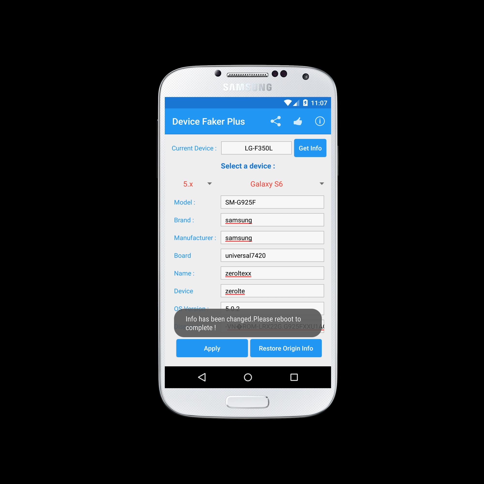 Device Faker for Android - APK Download
