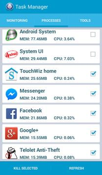 Android Device Task Manager screenshot 1