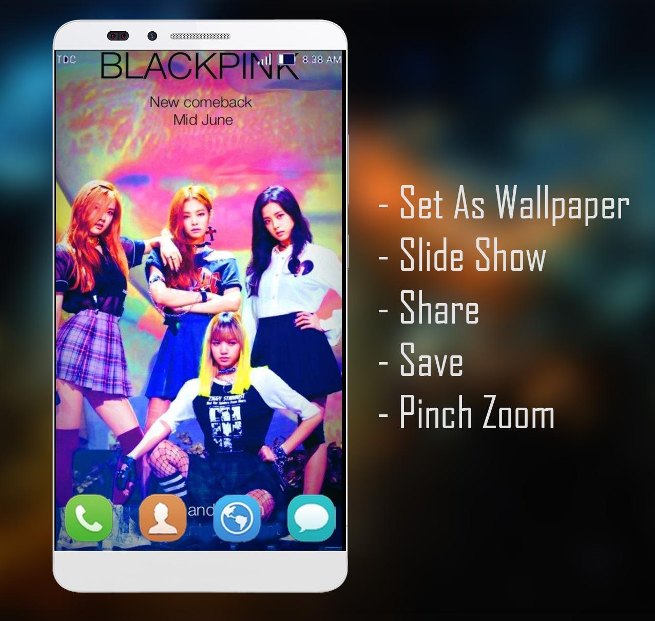 BLACKPINK Wallpaper HD Fans poster