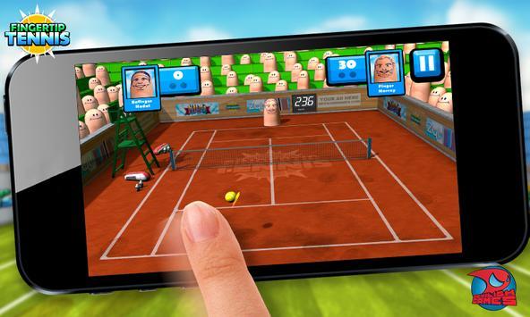 Fingertip Tennis LITE apk screenshot