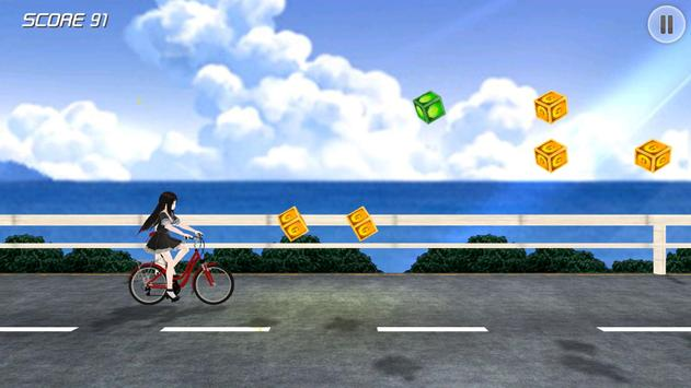 Running Girl - Sunny Beach apk screenshot