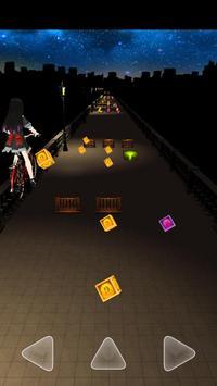 Running Girl-Night lights screenshot 2