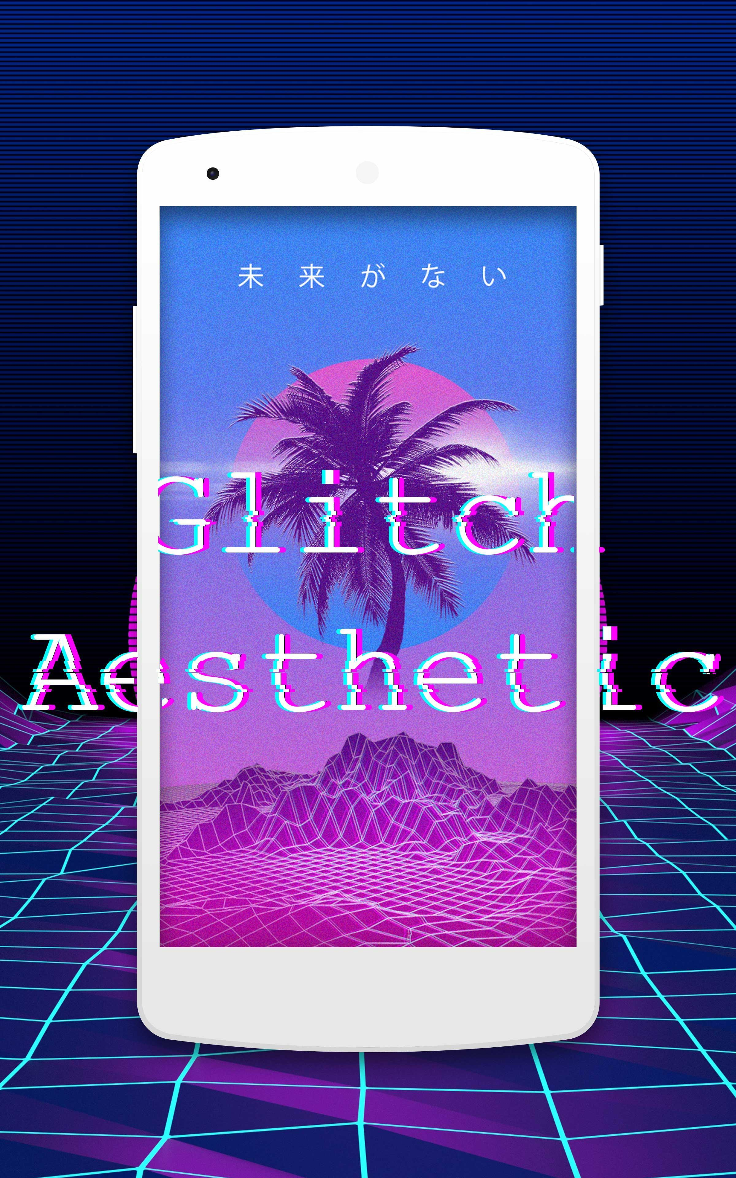 Glitch Effect Aesthetic Wallpapers Hd For Android Apk Download