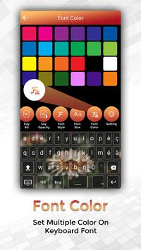 Easy Typing French Keyboard Fonts And Themes screenshot 1