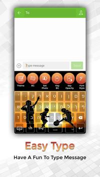 Easy Typing Hebrew Keyboard Fonts And Themes screenshot 1