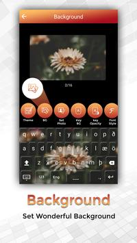 Easy Typing Icelandic Keyboard Fonts And Themes screenshot 5