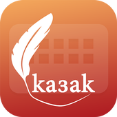 Easy Typing Kazakh Keyboard Fonts And Themes icon