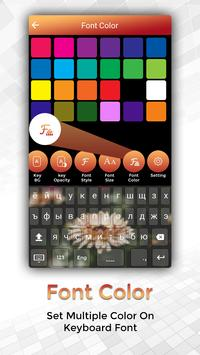 Easy Typing Kazakh Keyboard Fonts And Themes screenshot 3