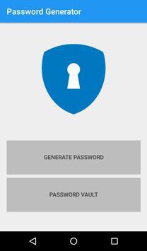 Random Password Generator poster