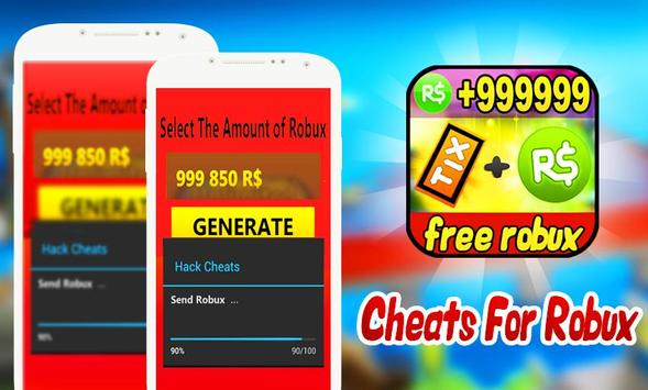 cheats free robux and tix for roblox prank apk download free