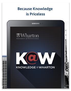 Knowledge@Wharton screenshot 14