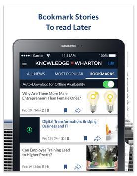 Knowledge@Wharton screenshot 7