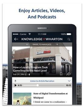 Knowledge@Wharton screenshot 6