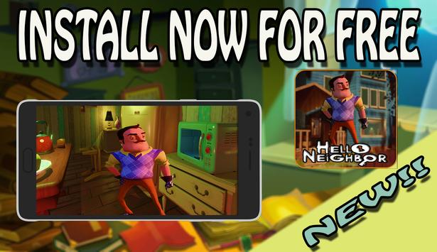 Guide For Hello Neighbor poster