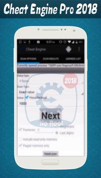 Free Cheat Engine Pro New 2K18 screenshot 2