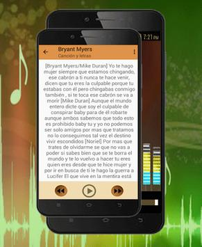 Bryant Myers-De La Ghetto-Darell-Almighty-Ojala apk screenshot