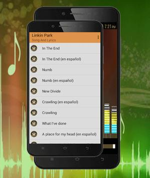 Linkin Park Song-In The End.Numb&What I've Done apk screenshot
